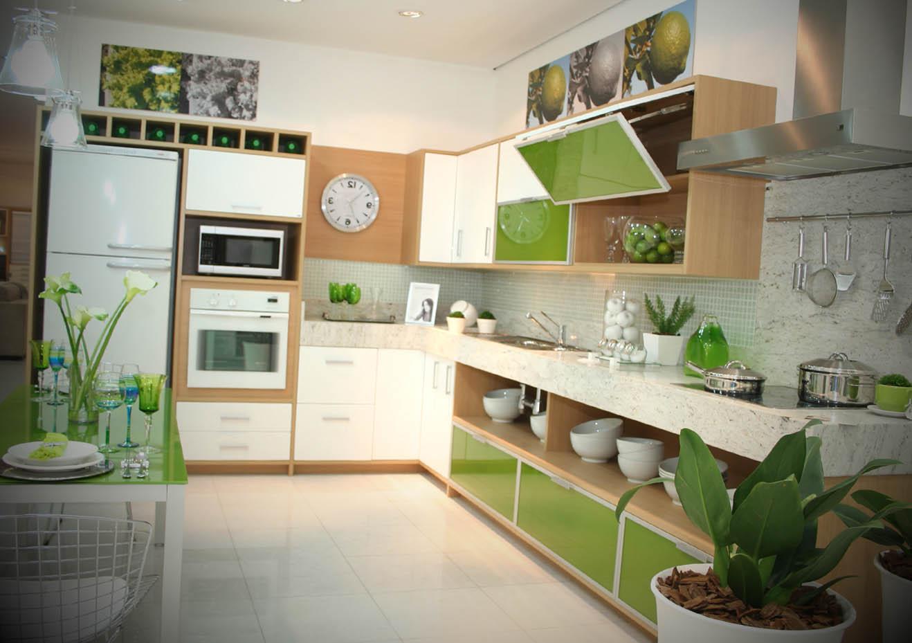 piso de cozinha modelo