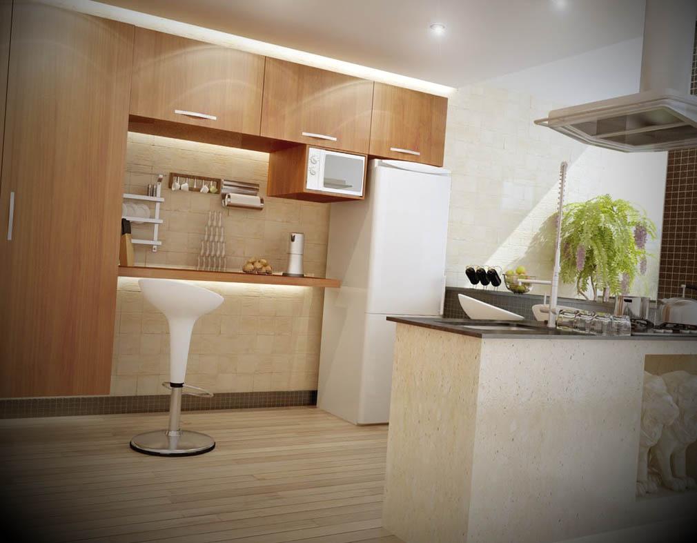 piso de cozinha
