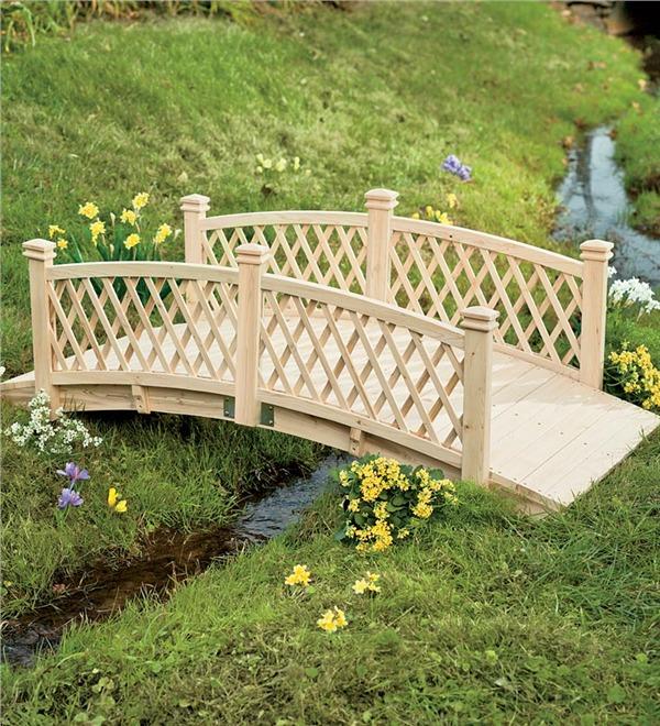 pontes decorativas para o jardim 1