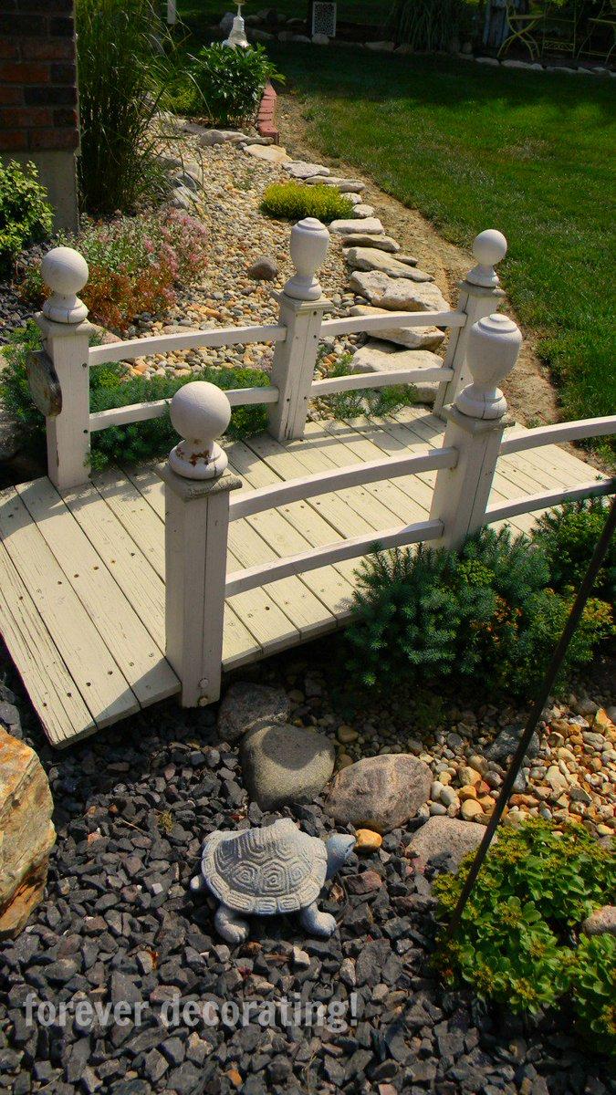 pontes decorativas para o jardim 10