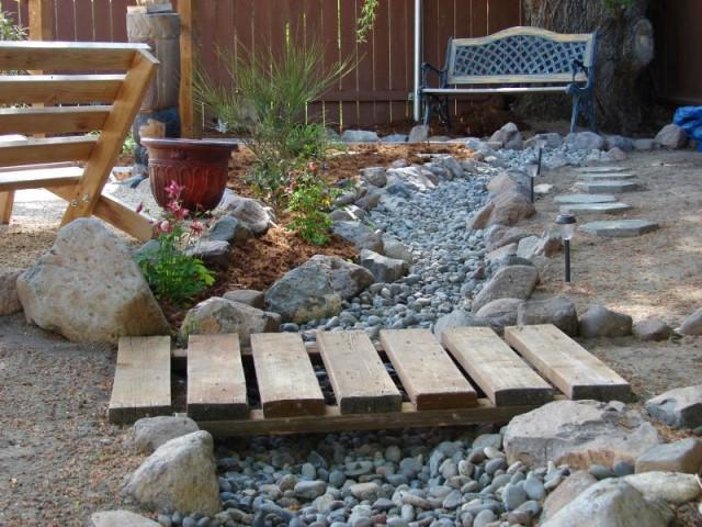 pontes decorativas para o jardim 2