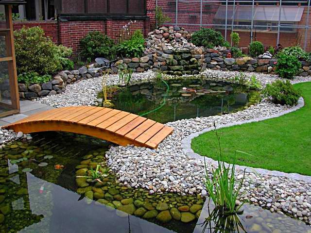 pontes decorativas para o jardim 3