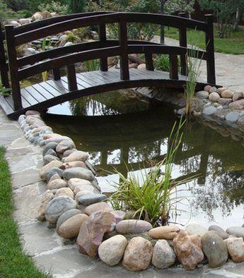 pontes decorativas para o jardim 4