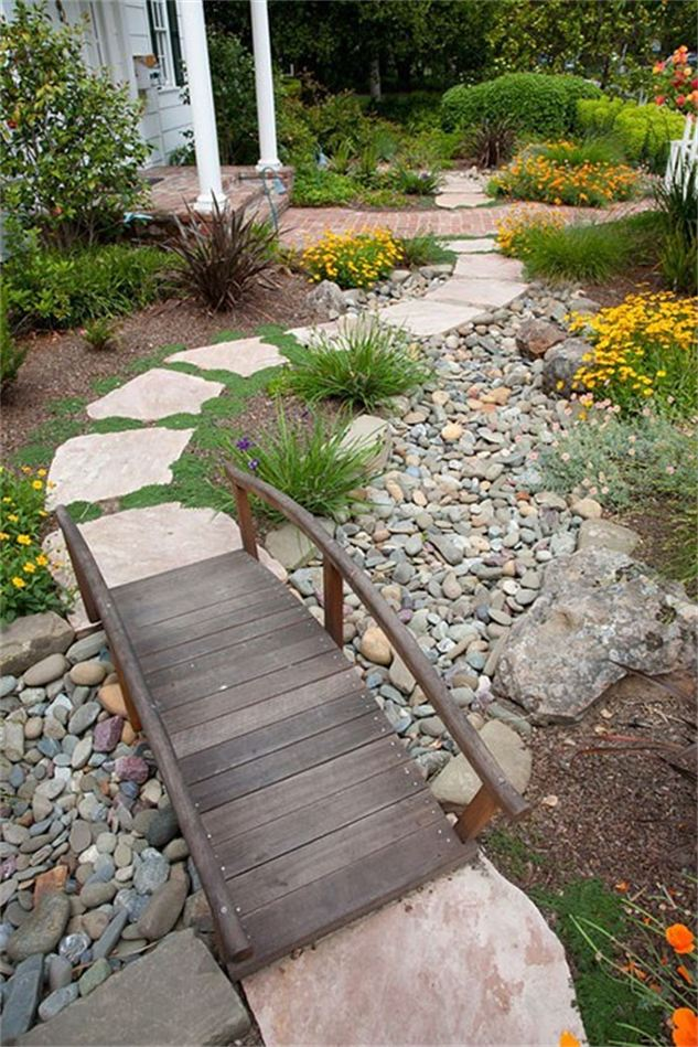 pontes decorativas para o jardim 5