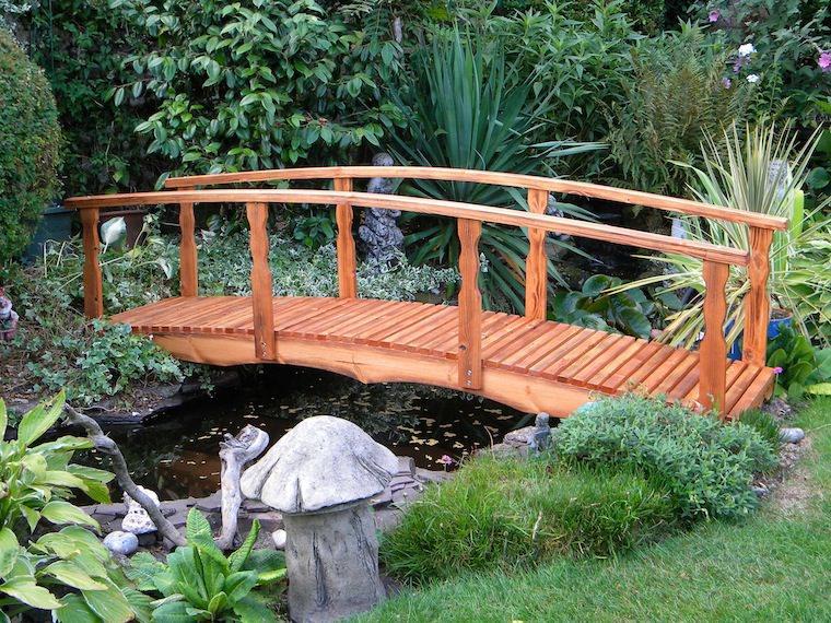 pontes decorativas para o jardim 8