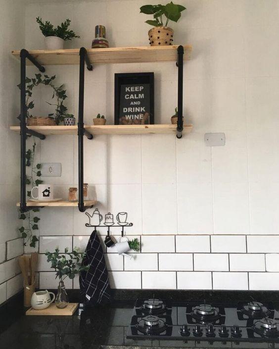 prateleiras para cozinha como fazer