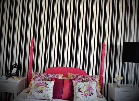 preto papel parede quarto