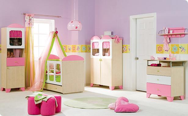 Decora o quarto de bebe for Roperos para cuartos de ninas