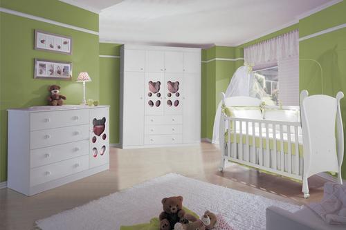 quarto bebe minimalista