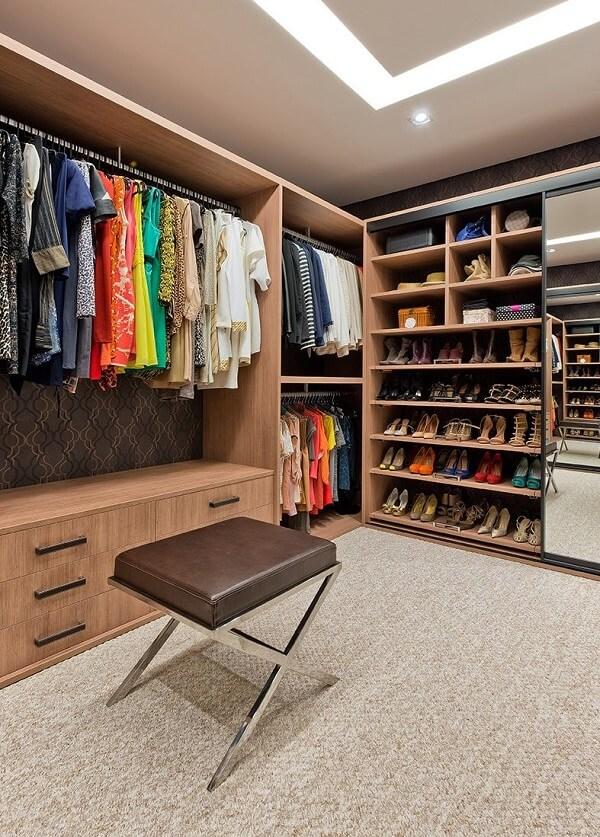 quarto com closet dicas ideias 1