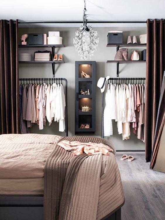 quarto com closet dicas ideias 3