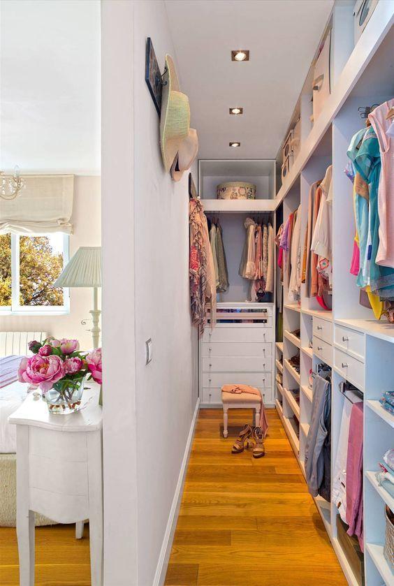 quarto com closet dicas ideias 7