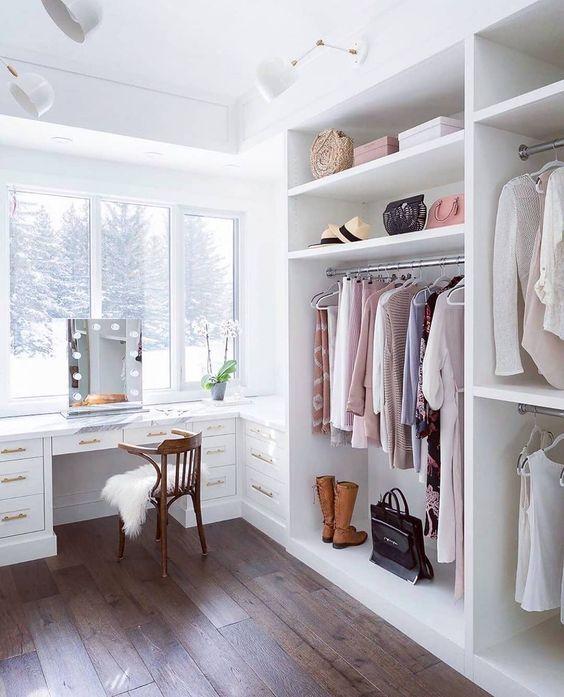 quarto com closet dicas ideias