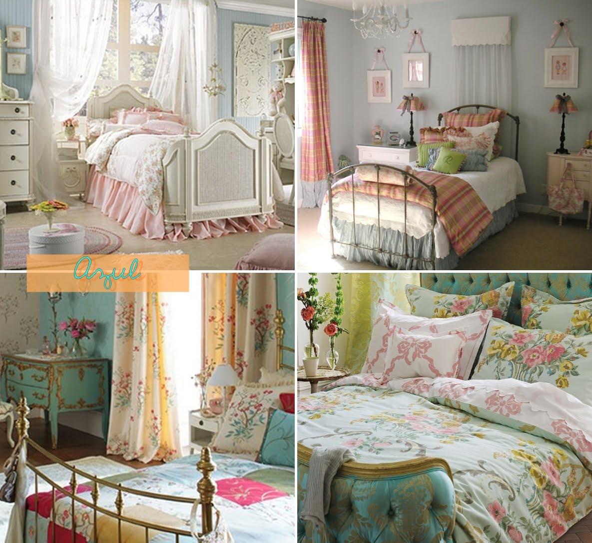quarto com decoracao vintage
