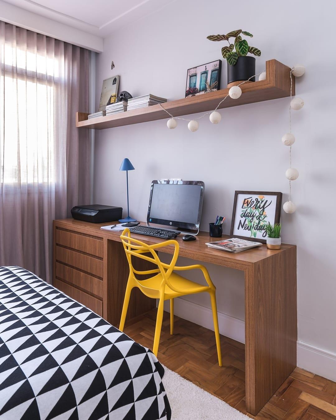 quarto com escritorio 10