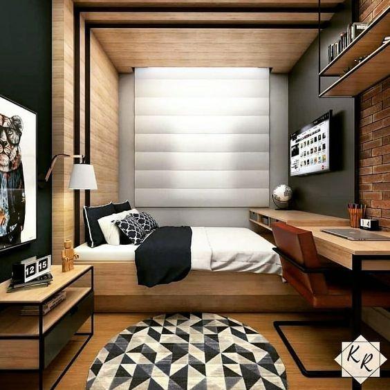 quarto com escritorio 8