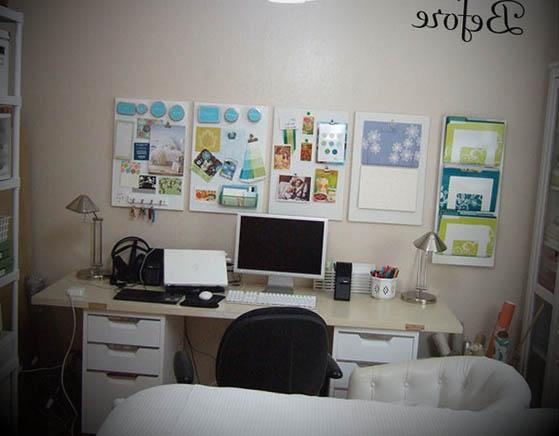 quarto com escritorio