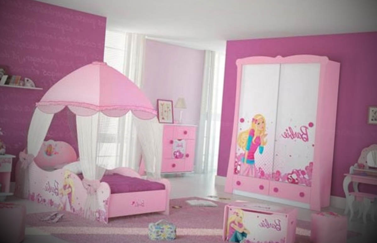 quarto da barbie decorado