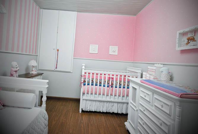 quarto de bebe feito a mao pela familia