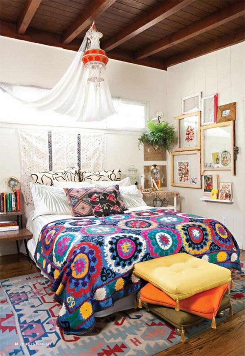 quarto decorado hippie 3