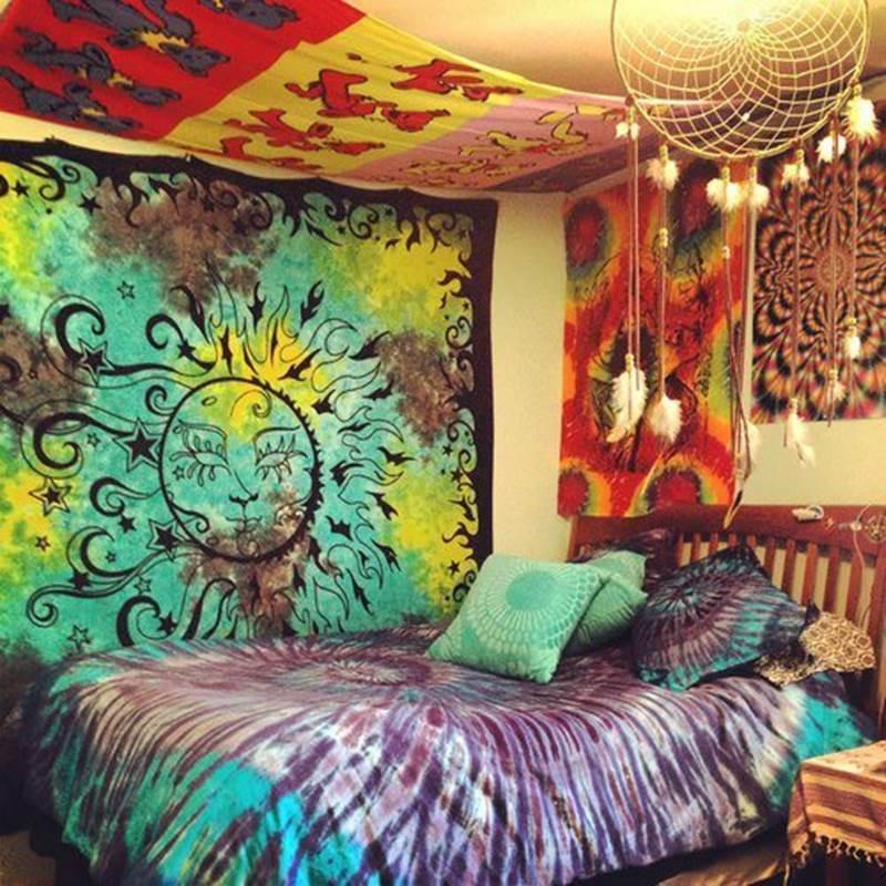 Decoração de Quarto Hippie