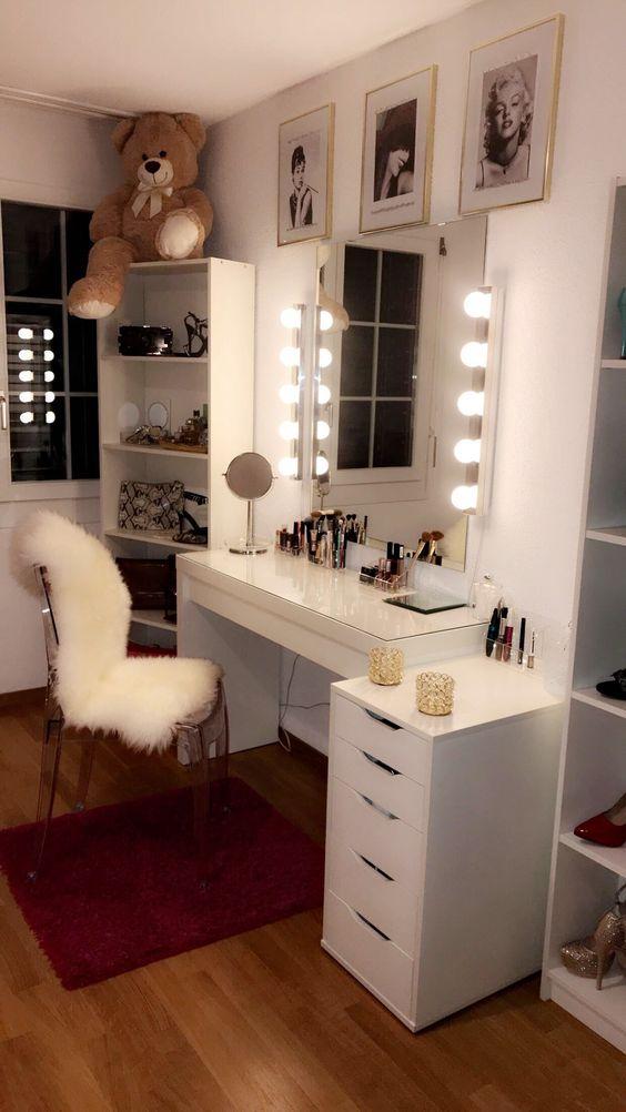 quarto decorado penteadeira 1