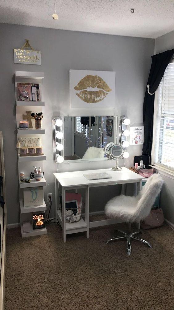 quarto decorado penteadeira 2