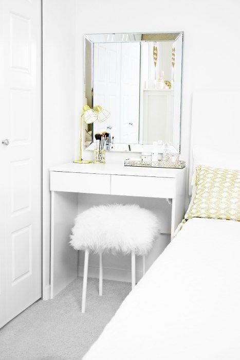 quarto decorado penteadeira 7
