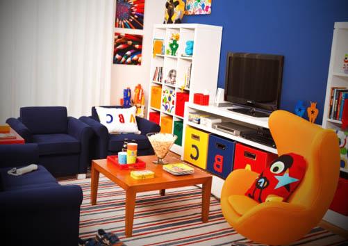 quarto infantil artista