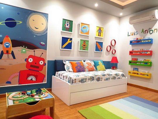 quarto infantil colorido 1