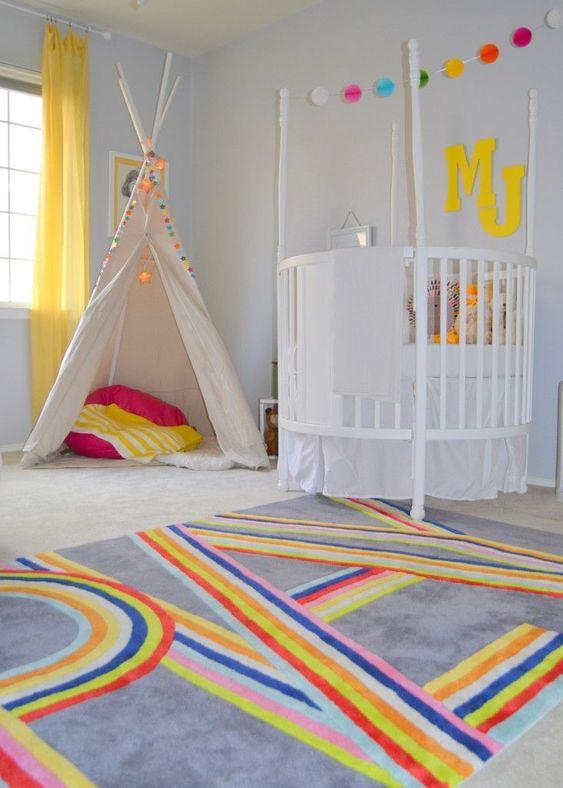 quarto infantil colorido 10