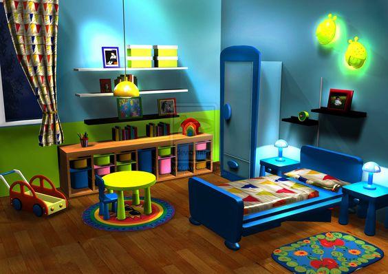 quarto infantil colorido 5