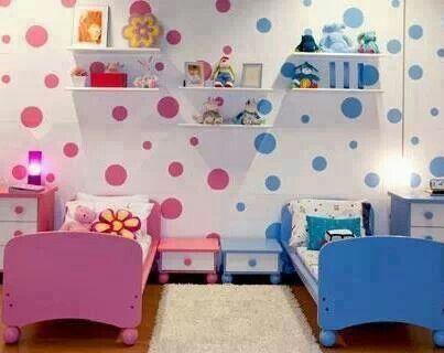 quarto infantil colorido 7