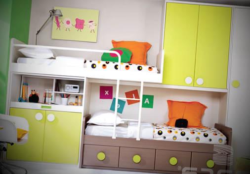 quarto juvenil colorido