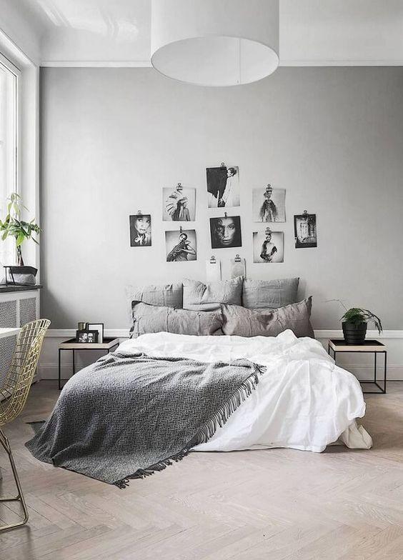 quarto minimalista casal