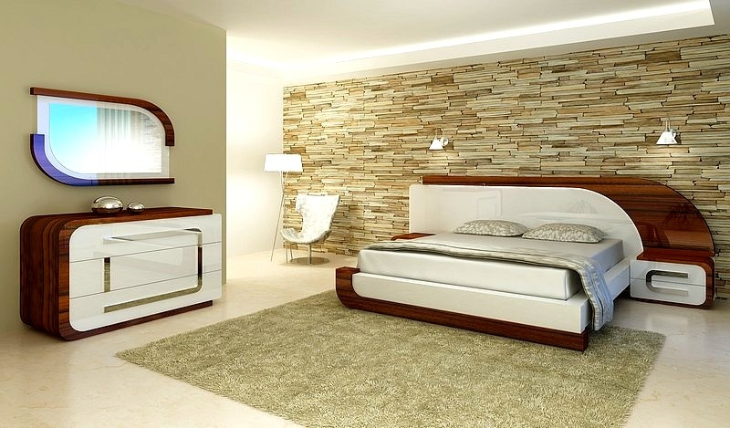 quarto moderno interiores