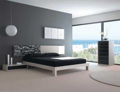 Decora o de quartos modernos for Dormitorios minimalistas pequenos