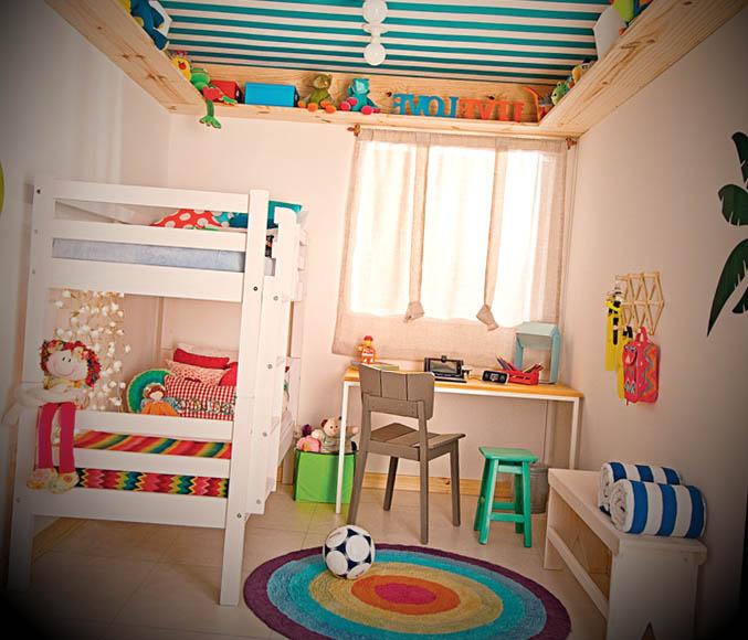 quarto pequeno para criancas