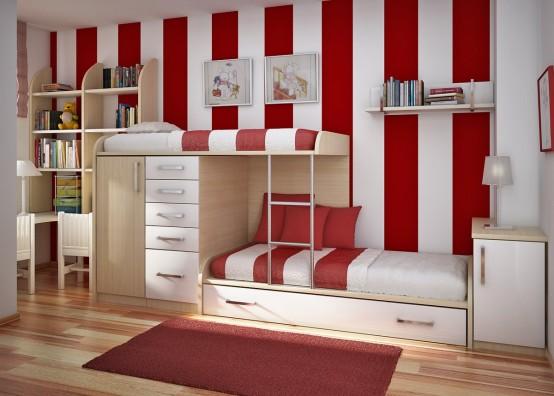 quarto planejado para adolescentes