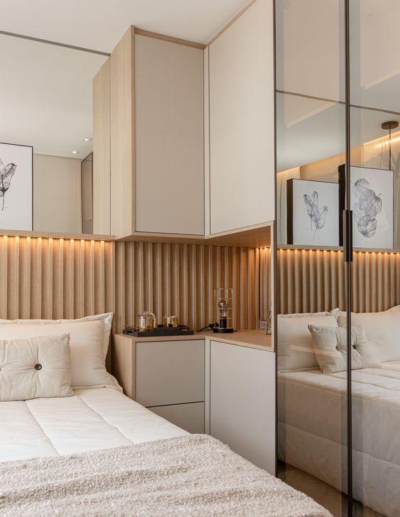 quartos com moveis planejados