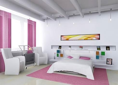 quartos modernos menina