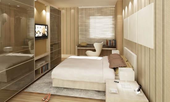 quartos pequenos casal