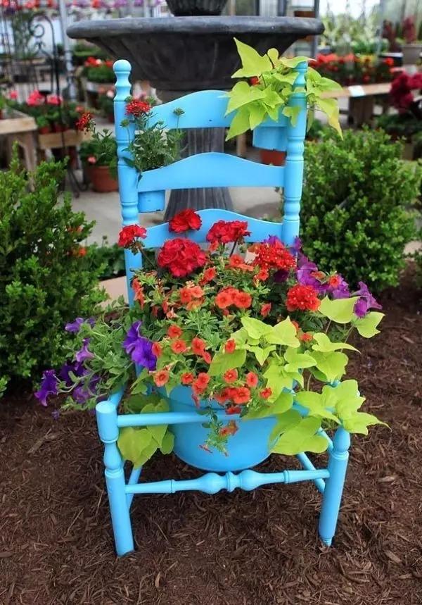 reutilizar cadeiras velhas 9