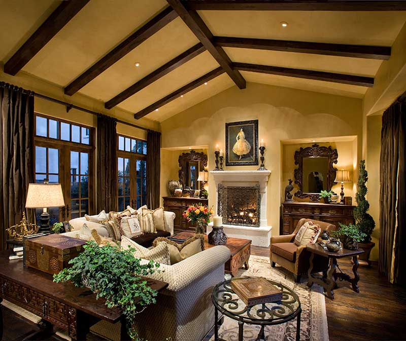 rustic interior ideas