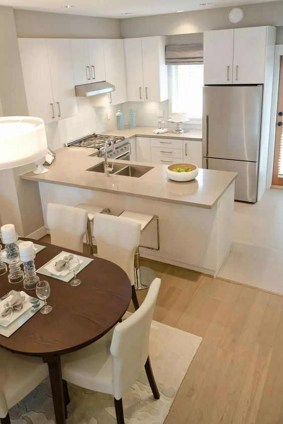 sala com cozinha americana 2