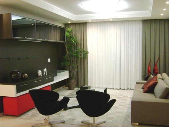 sala decorada casabela interiores