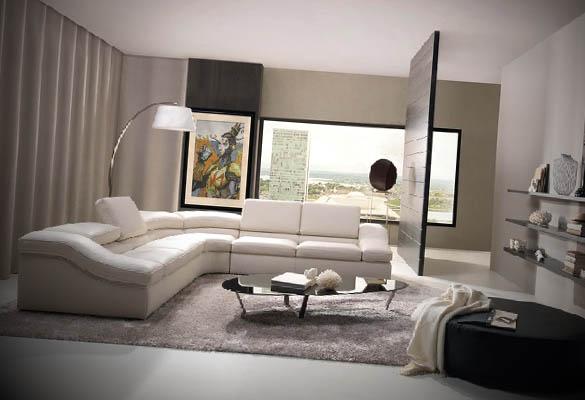 sala simples luxuosa