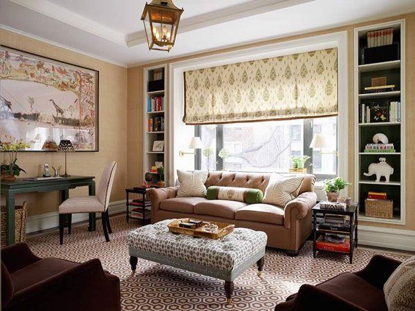 salas decoradas vintage