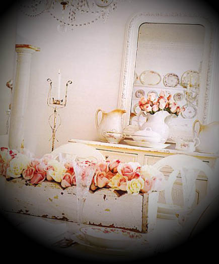 shabby chic decoracao