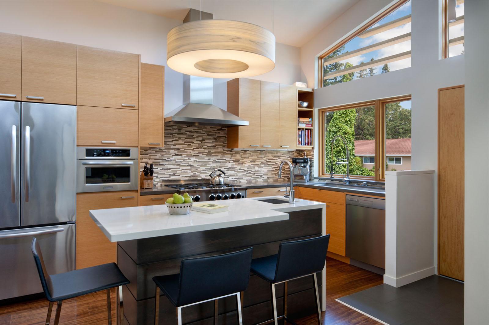 Cozinhas Americanas Simples Cozinha Americana Em Branco Bacada